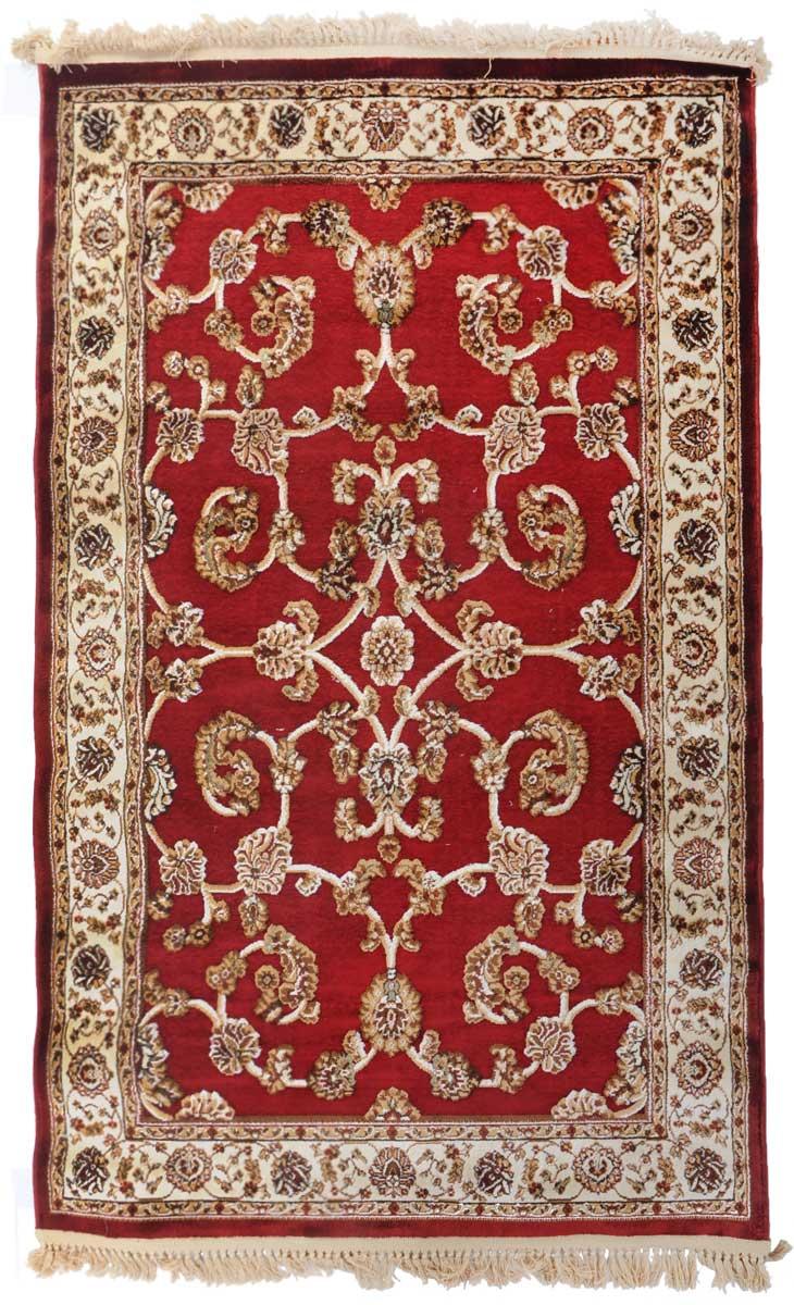 Ковер Mutas Carpet Силк Роад, 120 х 180 см. 203420130212183927203420130212183927Ковер Mutas Carpet, изготовленный из высококачественного материала, прекрасно подойдет для любого интерьера. За счет прочного ворса ковер легко чистить. При надлежащем уходе синтетический ковер прослужит долго, не утратив ни яркости узора, ни блеска ворса, ни упругости. Самый простой способ избавить изделие от грязи - пропылесосить его с обеих сторон (лицевой и изнаночной). Влажная уборка с применением шампуней и моющих средств не противопоказана. Хранить рекомендуется в свернутом рулоном виде.