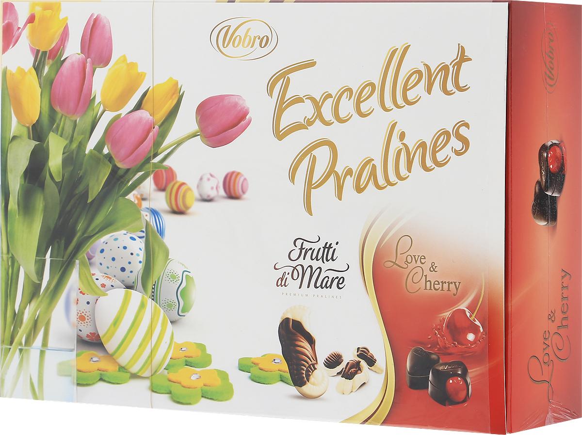 Фото Vobro Exсellent Pralines набор шоколадных конфет, 330 г