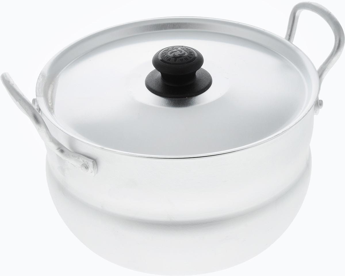 Кастрюля Kalitva с крышкой, 2,5 л1025Кастрюля Kalitva, выполненная из литого алюминия, позволит вам приготовить вкуснейшие блюда. Благодаря хорошей теплопроводности алюминия, молоко или вода закипают в нем быстрее, чем в эмалированных кастрюлях. Изделие оснащено крышкой и удобными ручками.Данная кастрюля отличается долговечностью и легкостью. Подходит для газовых, электрических и стеклокерамических плит.Высота стенки: 10,5 см. Ширина кастрюли (с учетом ручек): 23 см.