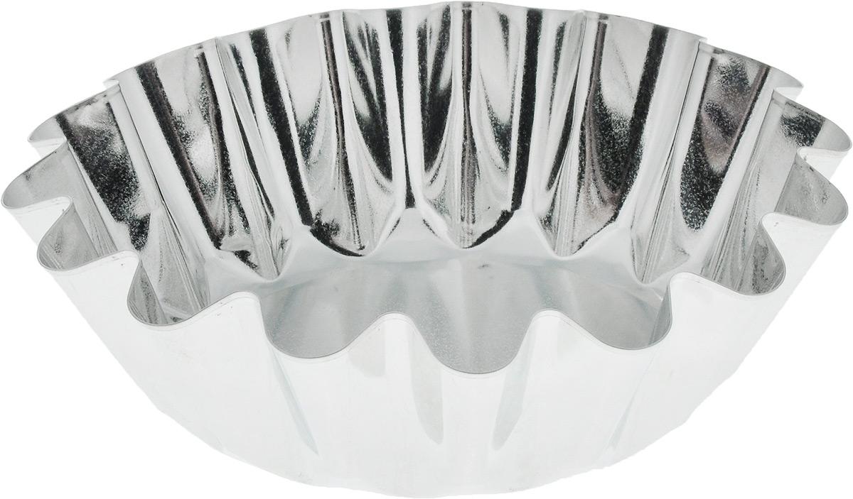 Форма для выпечки Кварц, диаметр 17,5 см961009Форма Кварц, выполненная из высококачественной жести, предназначена для выпечки и приготовления желе. Стенки изделия рельефные. С формой Кварц вы всегда сможете порадовать своих близких оригинальной выпечкой.Диаметр формы (по верхнему краю): 17,5 см. Высота формы: 5,5 см.