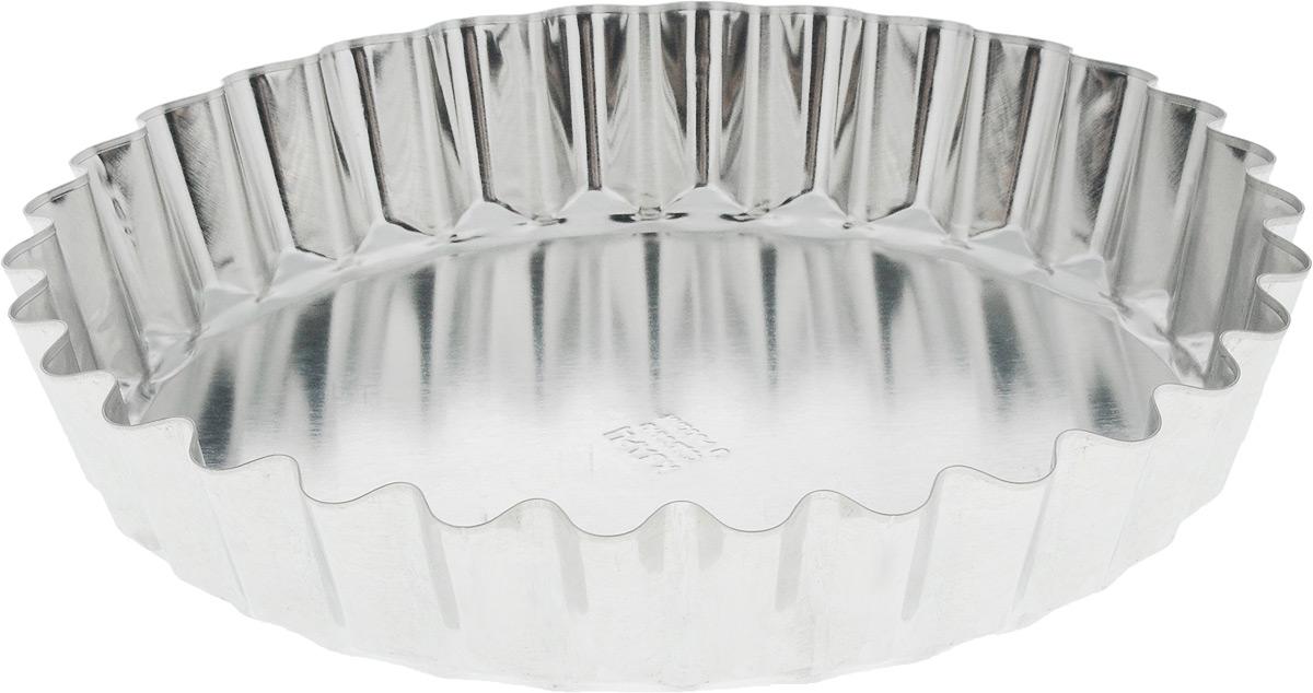 Форма для выпечки Кварц, диаметр 21 смКФ-18.000Форма Кварц, выполненная из высококачественной жести, предназначена для выпечки и приготовления желе. Стенки изделия рельефные. С формой Кварц вы всегда сможете порадовать своих близких оригинальной выпечкой.Диаметр формы (по верхнему краю): 21 см. Высота формы: 4 см.
