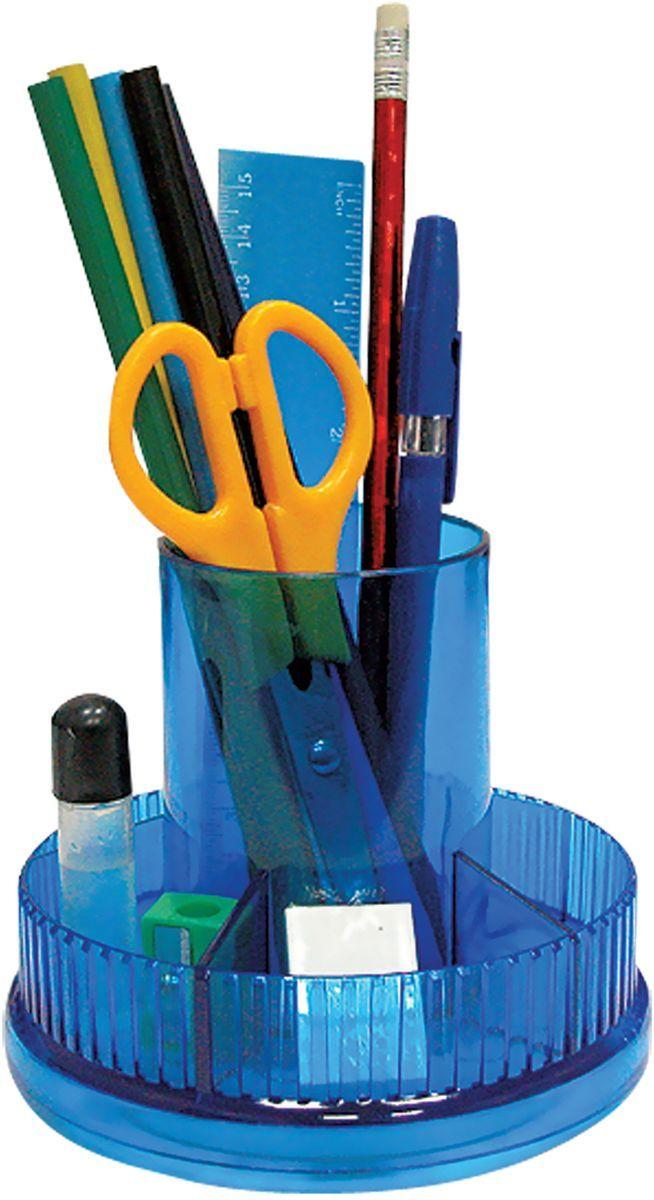 Staff Канцелярский набор Школьный эконом 9 предметов230834Канцелярский набор Staff Школьный эконом на вращающейся подставке позволяет эффективно организовать рабочее место.В набор входят: 2 ручки, 2 карандаша, степлер, антистеплер, бумага для заметок, стирательная резинка, скобы №10, скрепки, ножницы, канцелярский нож, точилка, линейка.