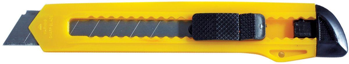 Erich Krause Нож канцелярский Standard цвет желтый 18 мм erich krause нож канцелярский erichkrause standard 18 мм