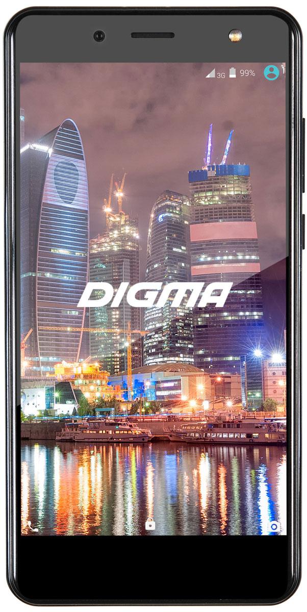 Digma Vox Flash 4G, Black смартфоны digma смартфон s501 3g vox белый