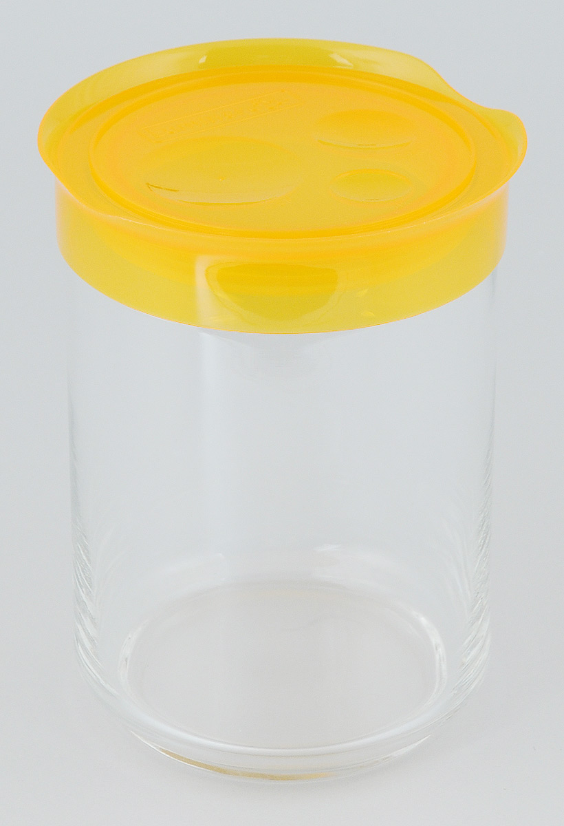 Банка для сыпучих продуктов Luminarc Storing Box, с крышкой, цвет: оранжевый, 1 лJ2035Банка Luminarc Storing Box, выполненная извысококачественного стекла, станет незаменимымпомощником на кухне. В ней будет удобно хранитьразнообразные сыпучие продукты, такие как кофе,сахар, соль или специи. Прозрачная банка позволитследить,что и в каком количестве находится внутри. Банканадежнозакрывается пластиковой крышкой, которая снабженарезиновым уплотнителем для лучшей фиксации.Такая банка не только сэкономит место на вашей кухне,но иукрасит интерьер. Объем: 1 л. Диаметр банки (по верхнему краю): 9 см. Высота банки (без учета крышки): 14,5 см.