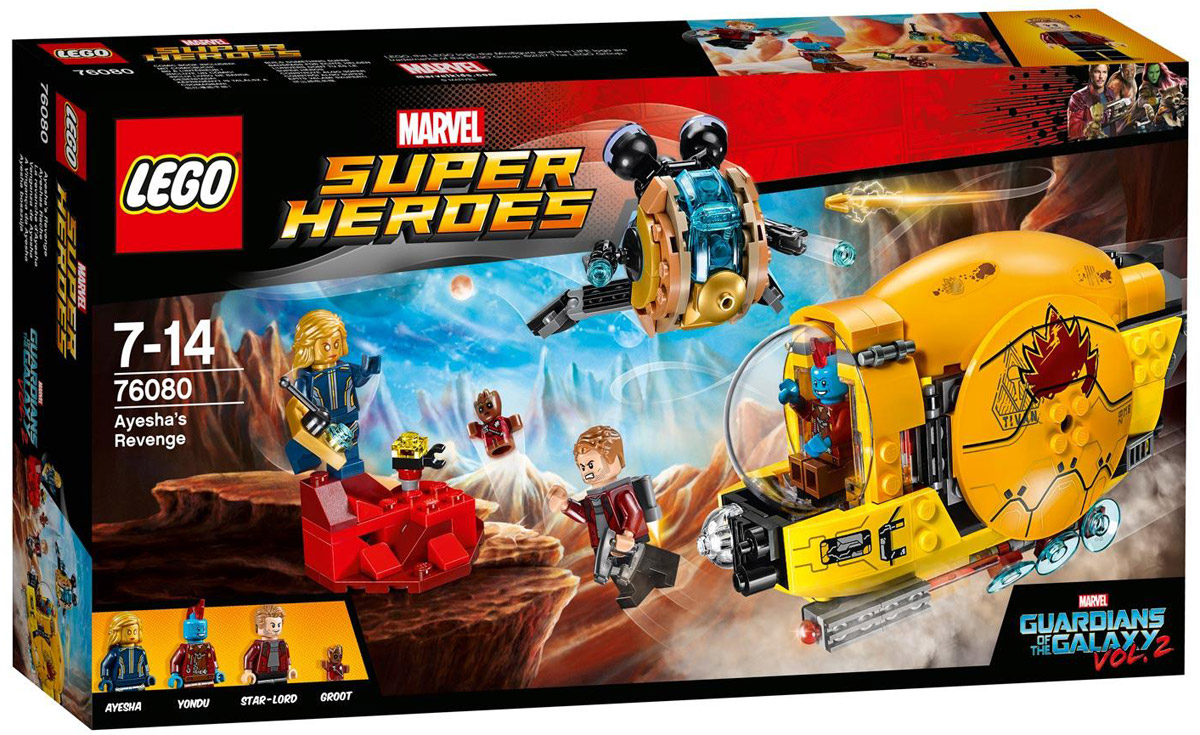 LEGO Super Heroes Конструктор Месть Аиши 76080 конструкторы lego lego конструктор супергерои джокерленд 76035 super heroes