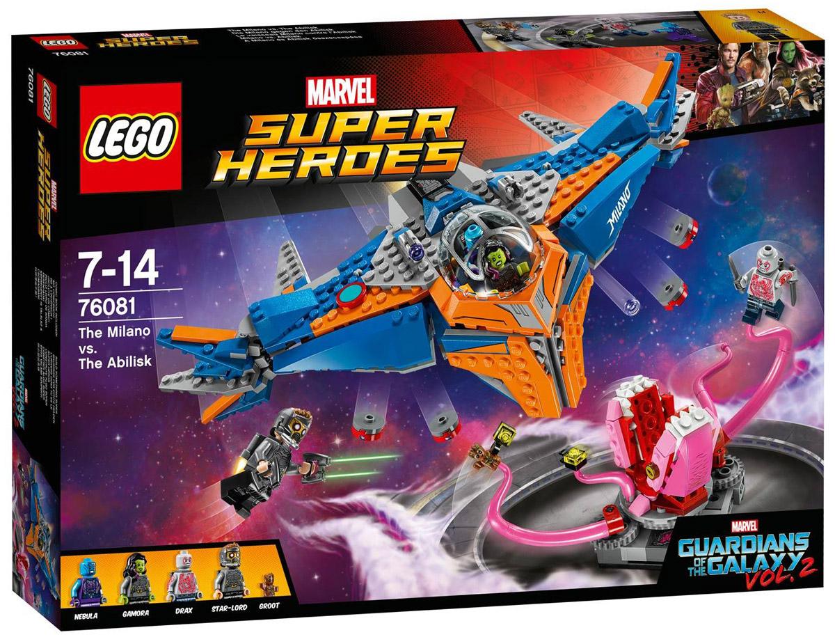 LEGO Super Heroes Конструктор Милано против Абелиска 76081 конструктор lego super heroes росомаха против магнето 76073