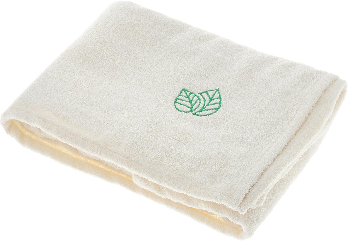 Простыня для бани и сауны Доктор Баня, с вышивкой, 150 х 100 см905662Махровая простыня для бани и сауны Доктор Баня изготовлена изнатурального хлопка. Изделие дополнено оригинальнойвышивкой в виде двух листочков. В парилке можно лежать наней, после душа вытираться, а во время отдыха использоватькак удобную накидку. Такая простыня идеально подойдеткаждому любителю бани и сауны. Размер изделия: 150 х 100 см.