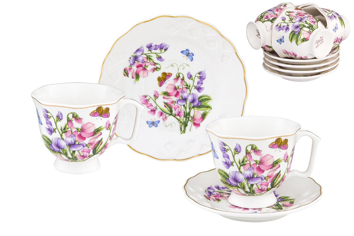 Кофейный набор Elan Gallery Душистый цветок, 12 предметов181004Кофейный сервизElan Gallery Душистый цветок на 6 персон. Набор включает 6 чашек объемом 130 мл, 6 блюдец, и станет достойным подарком для любителей кофе.Соберите всю коллекцию предметов сервировки Душистый цветок и Ваши гости будут в восторге!