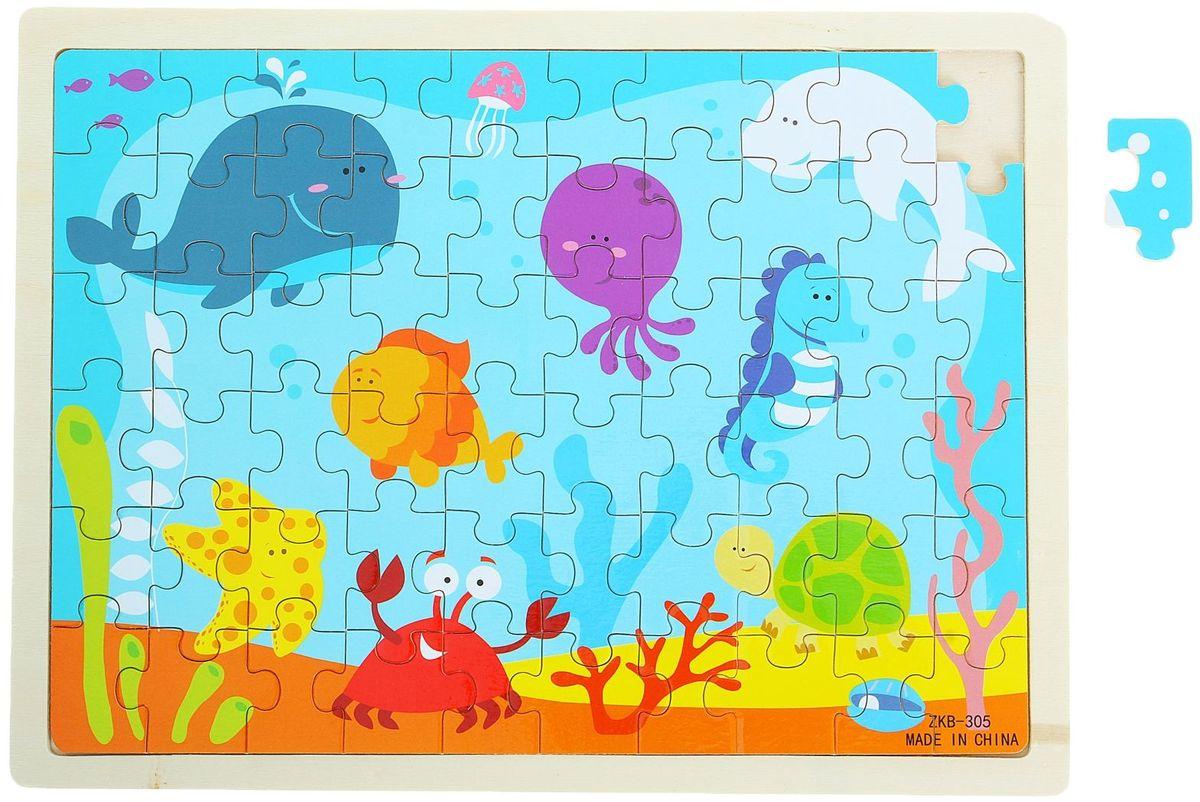 Лесная мастерская Пазл для малышей В синем море imports dfa200aa160 dfa150aa160 100