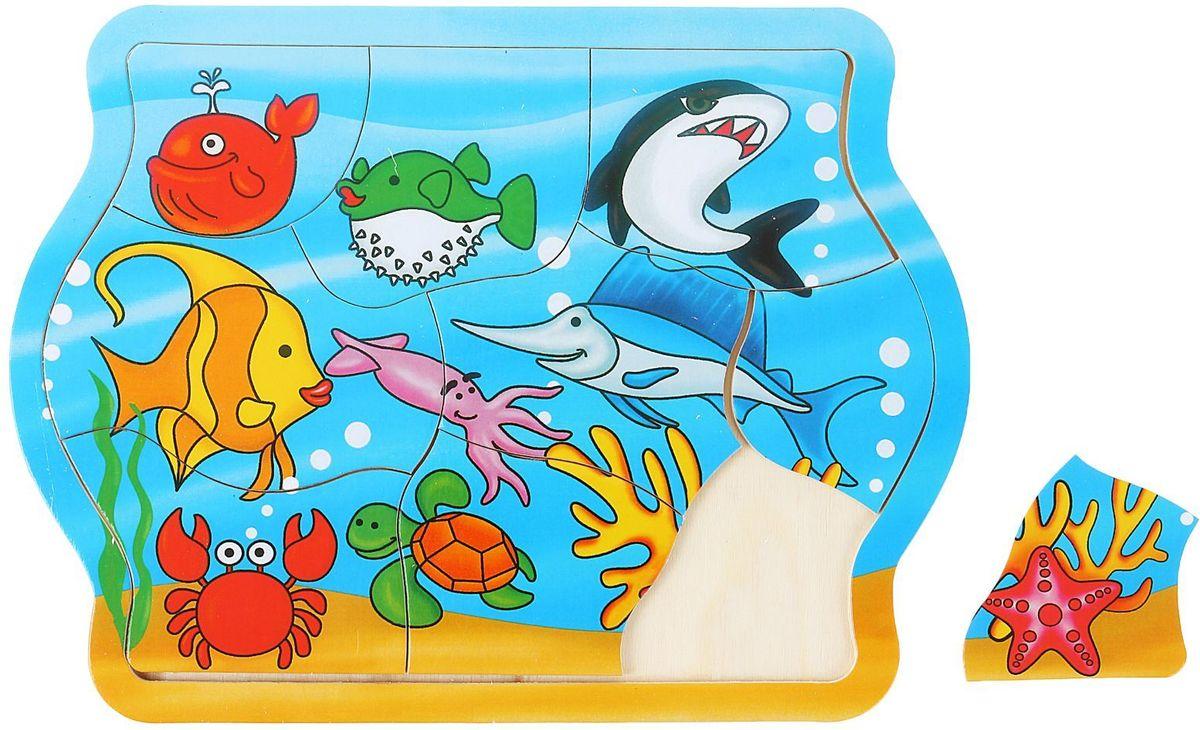 Лесная мастерская Пазл для малышей Море литвинчик к развивающие игрушки для малышей мамочкина мастерская