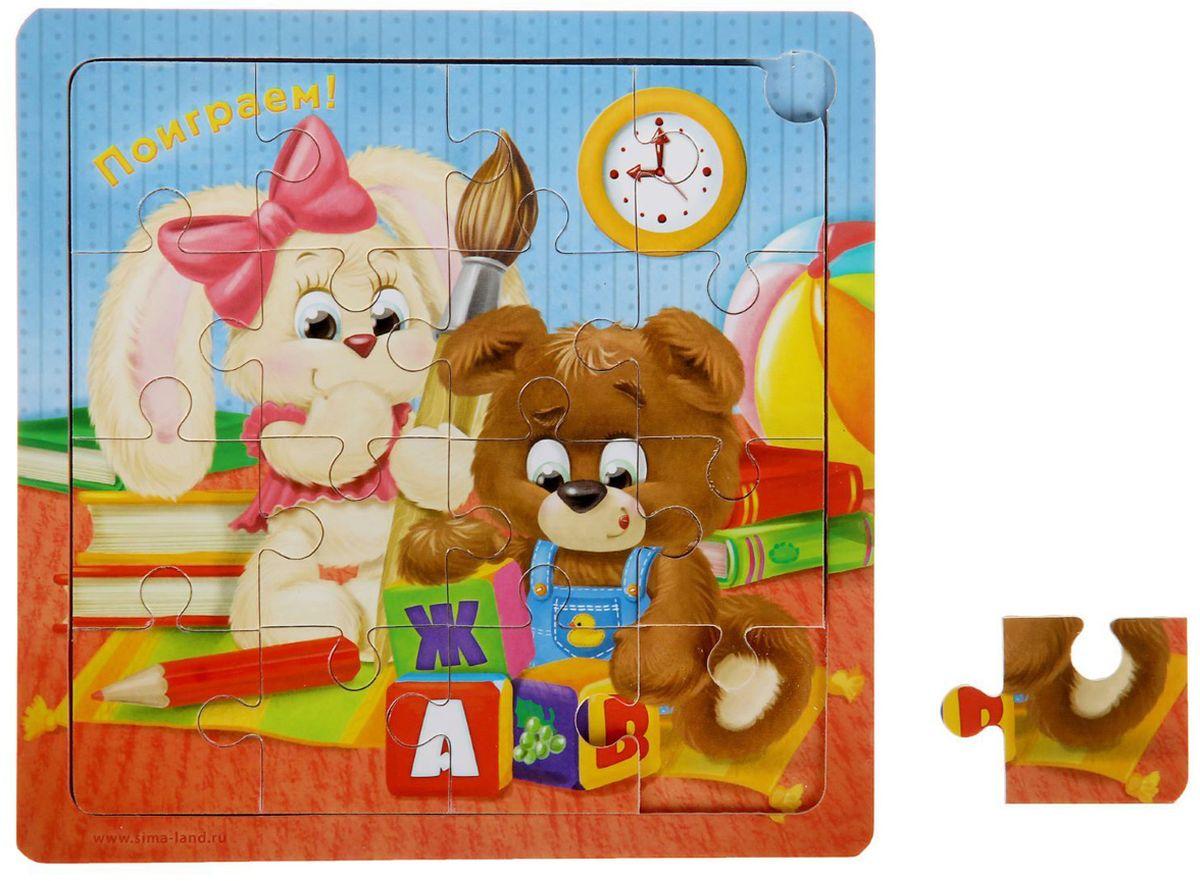 Лесная мастерская Пазл для малышей Поиграем литвинчик к развивающие игрушки для малышей мамочкина мастерская