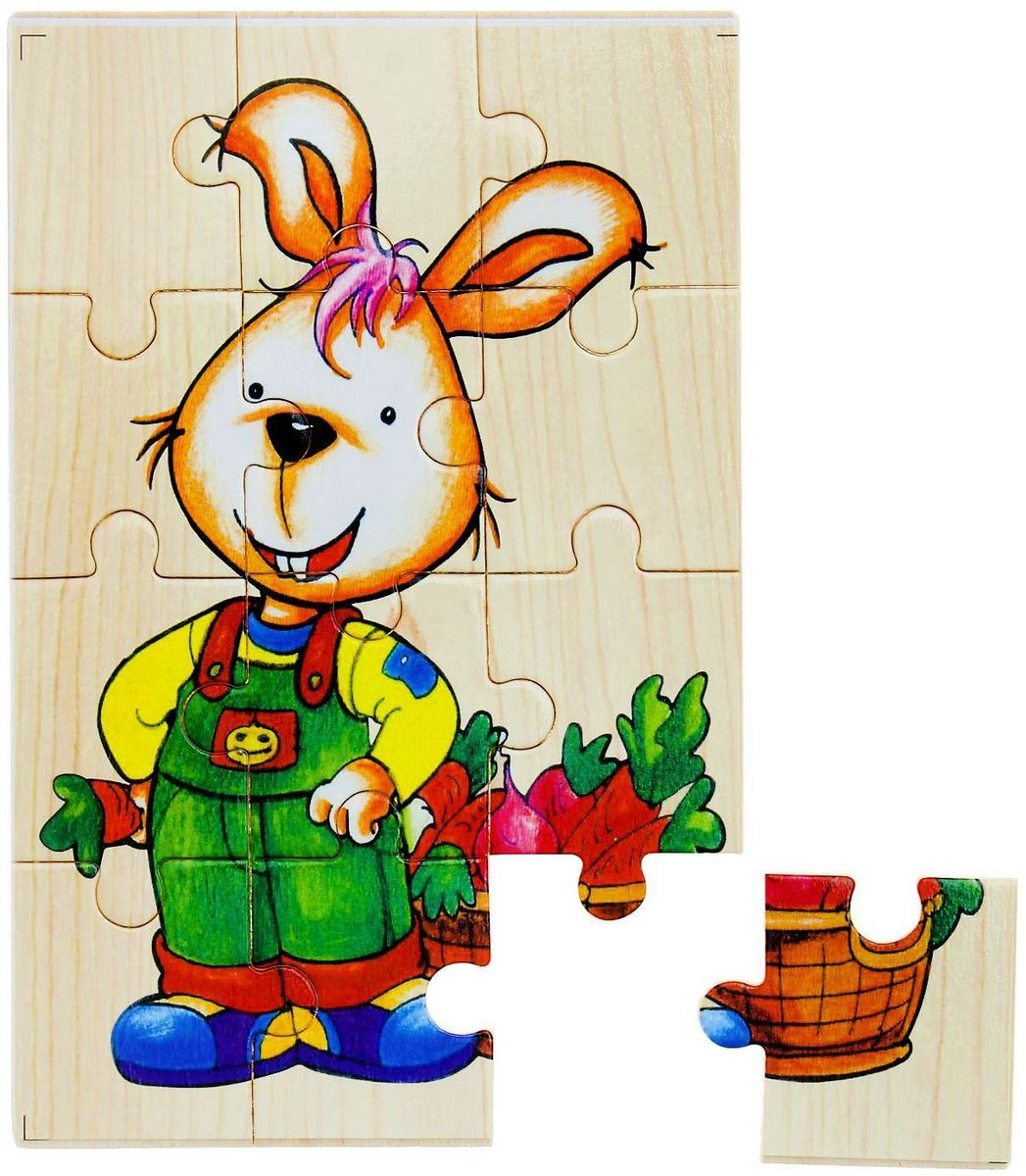 Лесная мастерская Пазл для малышей Зайчик [sa]us imports bussmann fuses bs88 4 fuses 355mt 355a 690v