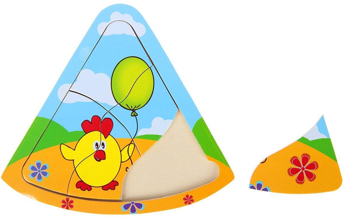 Лесная мастерская Пазл для малышей Цыпленок 1544545