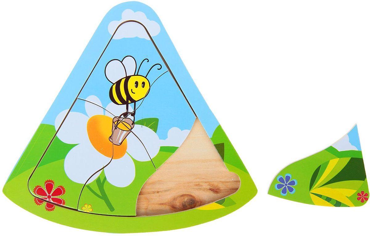 Лесная мастерская Пазл для малышей Пчелка 1544546