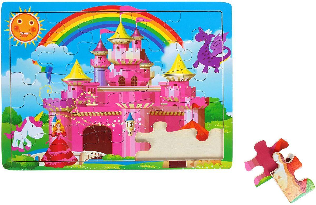 цена на Лесная мастерская Пазл для малышей Сказочный замок