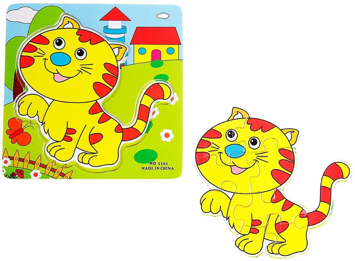 Лесная мастерская Пазл для малышей Полосатый котенок лесная мастерская пазл для малышей лисичка