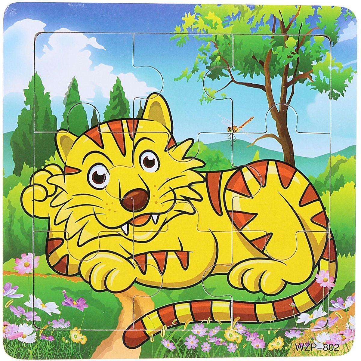 Лесная мастерская Пазл для малышей Тигр