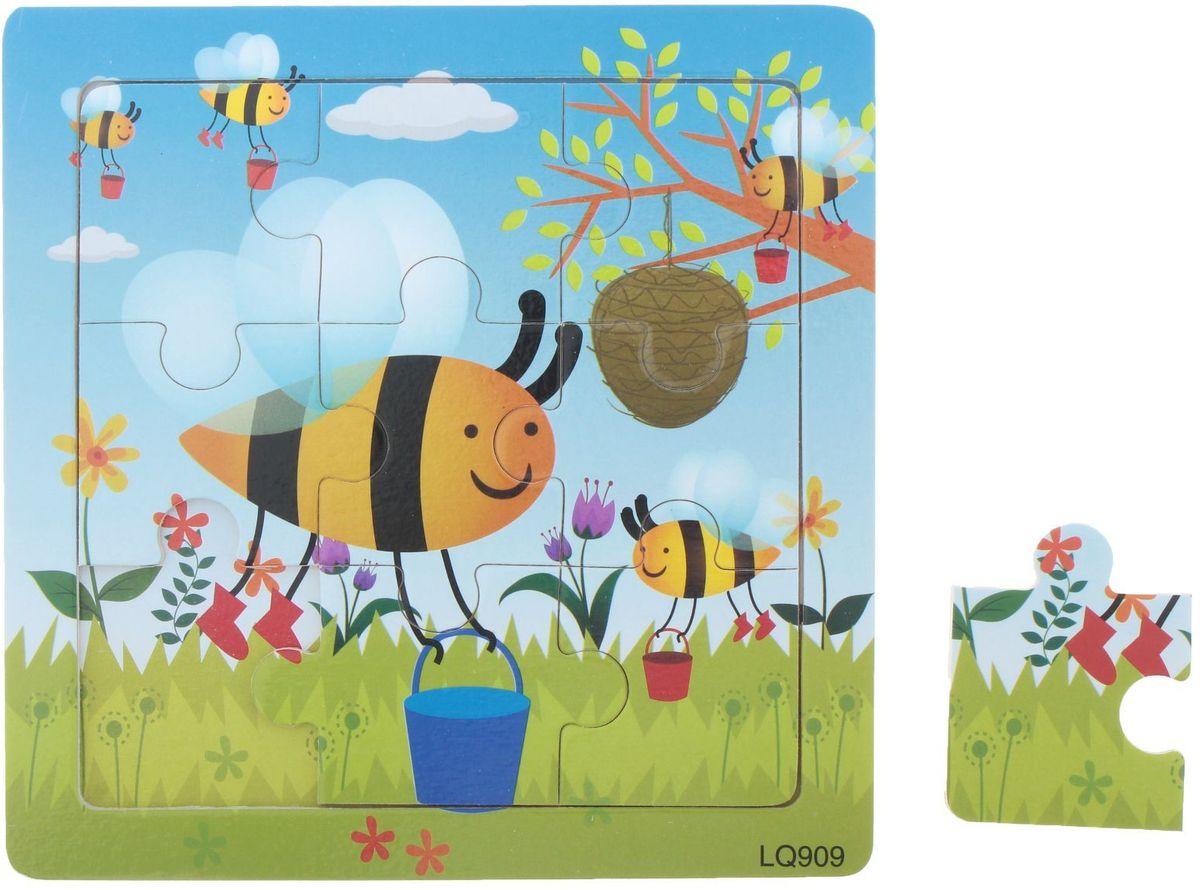 Лесная мастерская Пазл для малышей Пчелиный улей лесная мастерская пазл для малышей лисичка