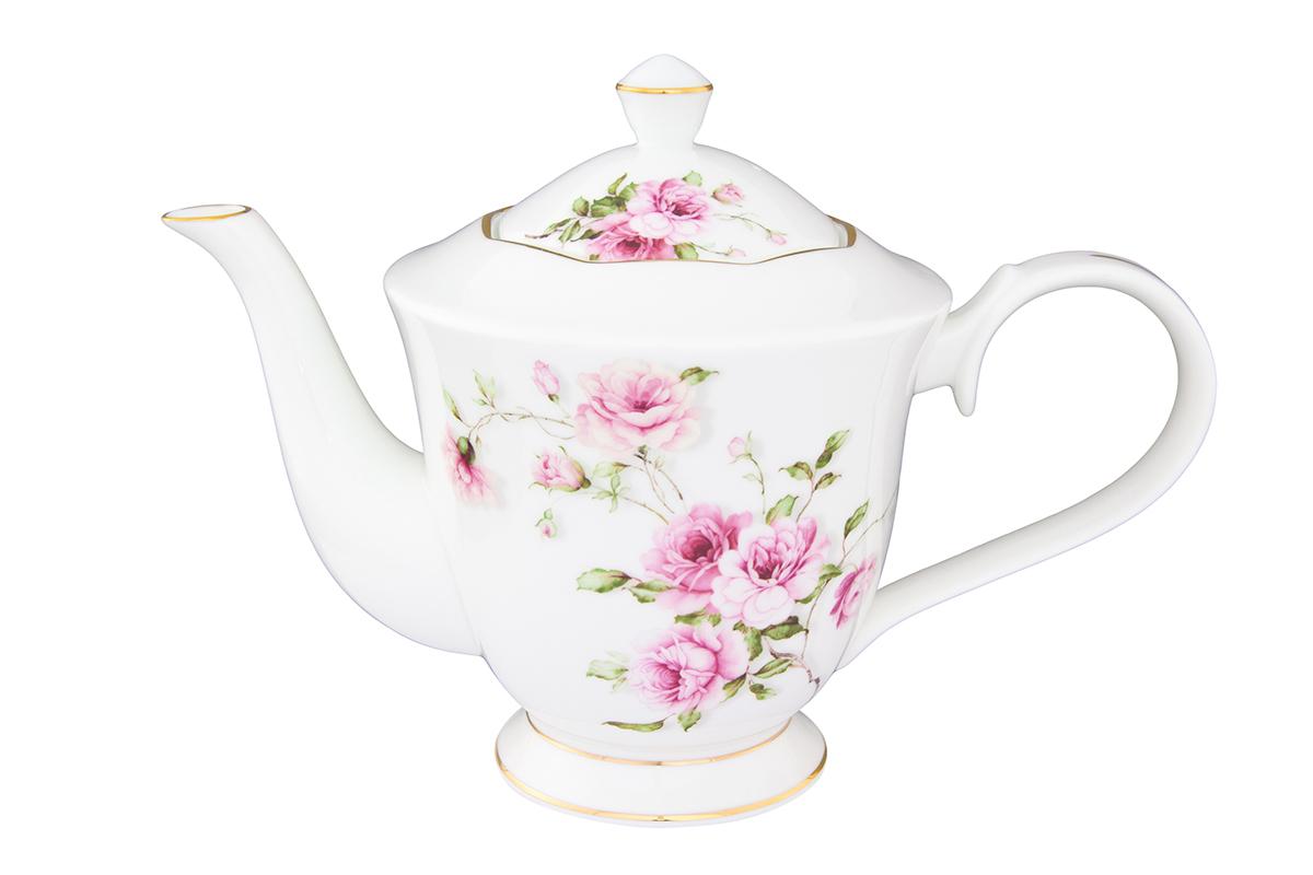 Чайник Elan Gallery Амалия, на ножке, 1 л530074Изысканный заварочный чайник объемом 1 л украсит сервировку стола к чаепитию. Благодаря красивому утонченному дизайну и качеству исполнения он станет хорошим подарком друзьям и близким. Соберите всю коллекцию предметов сервировки Амалия и ваши гости будут в восторге!