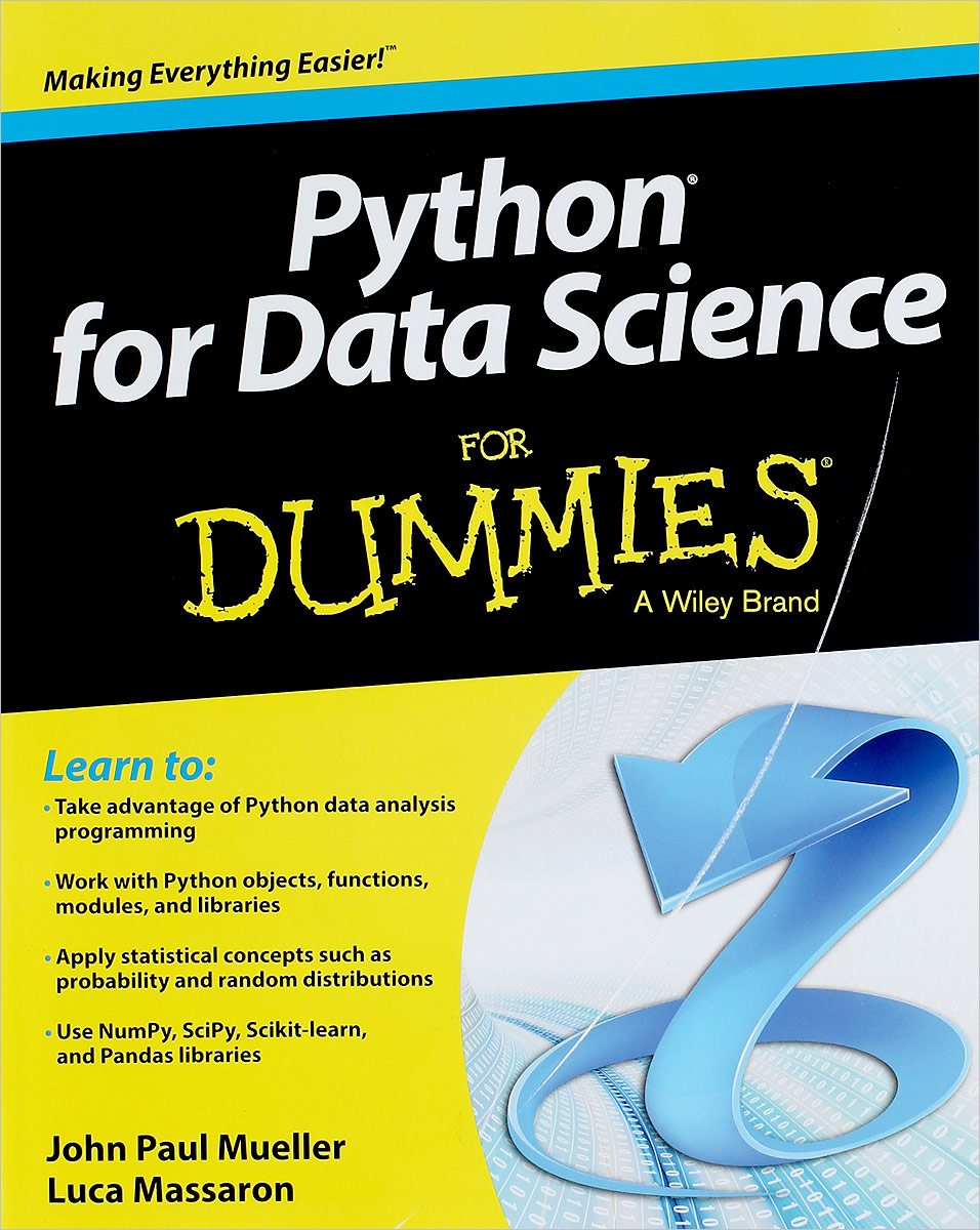 Python for Data Science For Dummies john mueller paul beginning programming with python for dummies