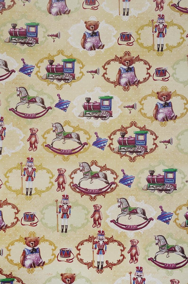 Бумага упаковочная Феникс-Презент Сказочные игрушки, 100 х 70 см41874Упаковочная бумага Феникс-Презент Сказочные игрушки оформлена полноцветным декоративным рисунком. Подарок, преподнесенный в оригинальной упаковке, всегда будет самым эффектным и запоминающимся. Бумага с одной стороны мелованная.Окружите близких людей вниманием и заботой, вручив презент в нарядном, праздничном оформлении.Размер: 100 х 70 см.Плотность бумаги: 80 г/м2.