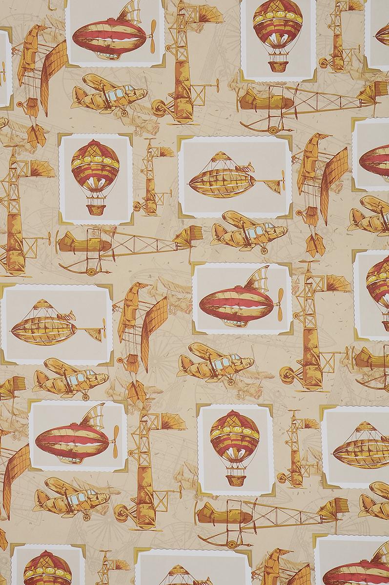 Бумага упаковочная Феникс-Презент Самолеты и дирижабли, 100 х 70 см41884Упаковочная бумага Феникс-Презент Самолеты и дирижабли оформлена полноцветным декоративным рисунком. Подарок, преподнесенный в оригинальной упаковке, всегда будет самым эффектным и запоминающимся. Бумага с одной стороны мелованная.Окружите близких людей вниманием и заботой, вручив презент в нарядном, праздничном оформлении.Размер: 100 х 70 см.Плотность бумаги: 80 г/м2.