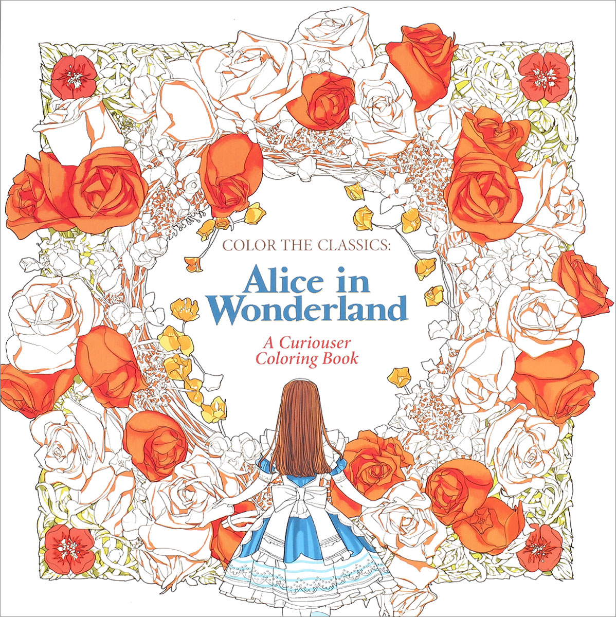 Color the Classics: Alice in Wonderland: A Curiouser Coloring Book каподастр alice a007d bk a
