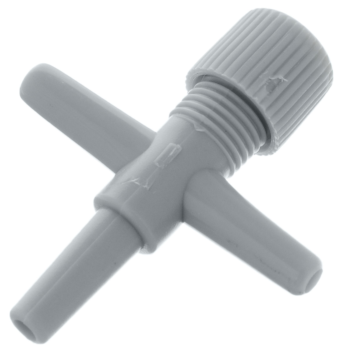 Краник-тройник для компрессорной трубки Barbus, диаметр 4 мм