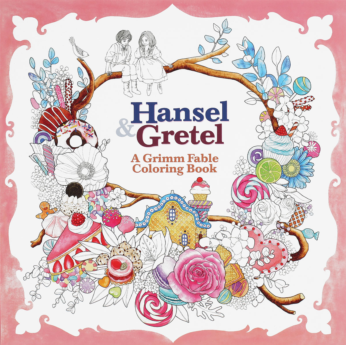 Hansel & Gretel: A Grimm Fable Coloring Book wooden ancient bookmarks chinese complex classical teachers festival gifts bookmarks creative bookmarks sets m097