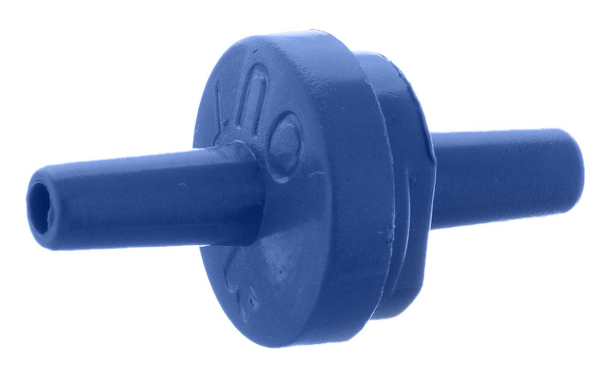 Обратный клапан Barbus, цвет: синийAccessory 104Обратный клапан Barbus выполнен из высококачественного пластика. Клапан необходим, если вы планируете установить компрессор ниже уровня воды. Он способен предотвратить ситуацию, когда при внезапном отключении электричества вся вода вытечет из аквариума на пол по принципу сообщающихся сосудов.Предназначен для воздушных трубок с диаметром 4 мм.