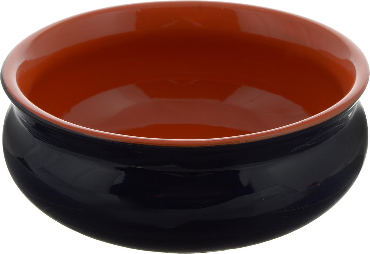Тарелка глубокая Борисовская керамика Скифская, цвет: темно-синий, оранжевый, 500 млРАД14458194_темно-синий, оранжевыйГлубокая тарелка Борисовская керамика Скифская выполнена из высококачественной керамики. Такая тарелка подчеркнет прекрасный вкус хозяйки и станет отличным подарком. Можно использовать в духовке и микроволновой печи.Диаметр тарелки (по верхнему краю): 14 см.Высота тарелки: 6 см.