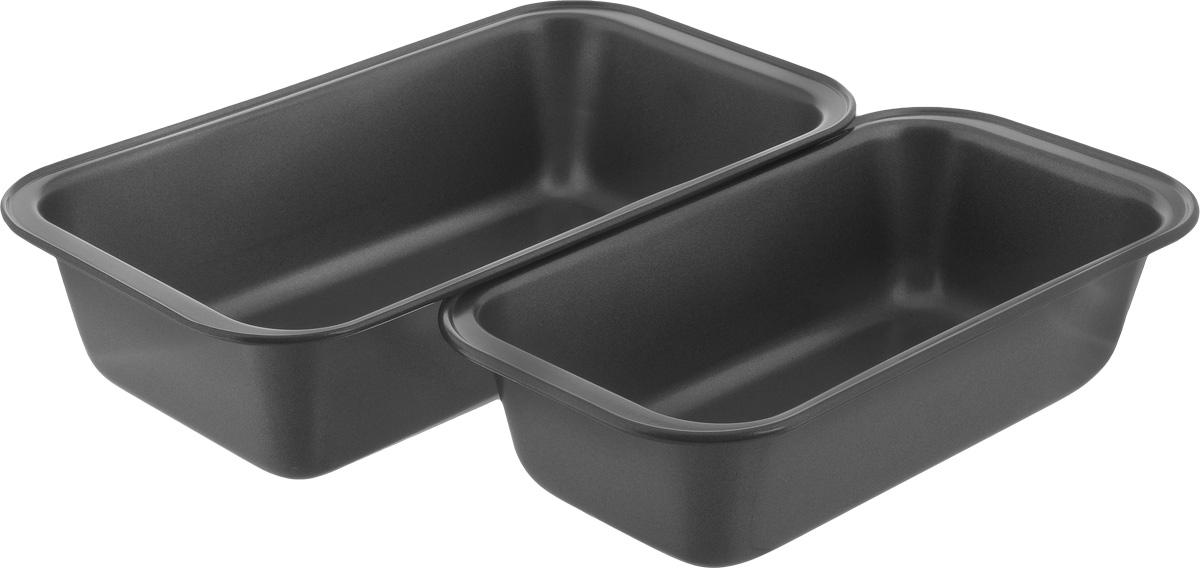 Набор форм для выпечки Gipfel Comfort, 2 шт1855-1856Набор форм для выпечки Gipfel Comfort изготовлены из высококачественной углеродистой стали с антипригарным покрытием Whitford Xylan.Антипригарные свойства покрытия позволяют готовить с минимальным количеством масла, тем самым сокращая количество жиров в рационе. Подходит для использования в духовом шкафу. Можно мыть в посудомоечной машине.Размер малой формы для выпечки: 24 х 12,5 х 6 см. Размер большой формы для выпечки: 27 х 15 х 6 см.