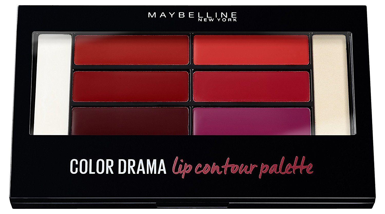 Maybelline New York Контурирующая палетка для губ Color Drama, оттенок Красно-Фиолетовый maybelline maybelline палетка теней the nudes 01