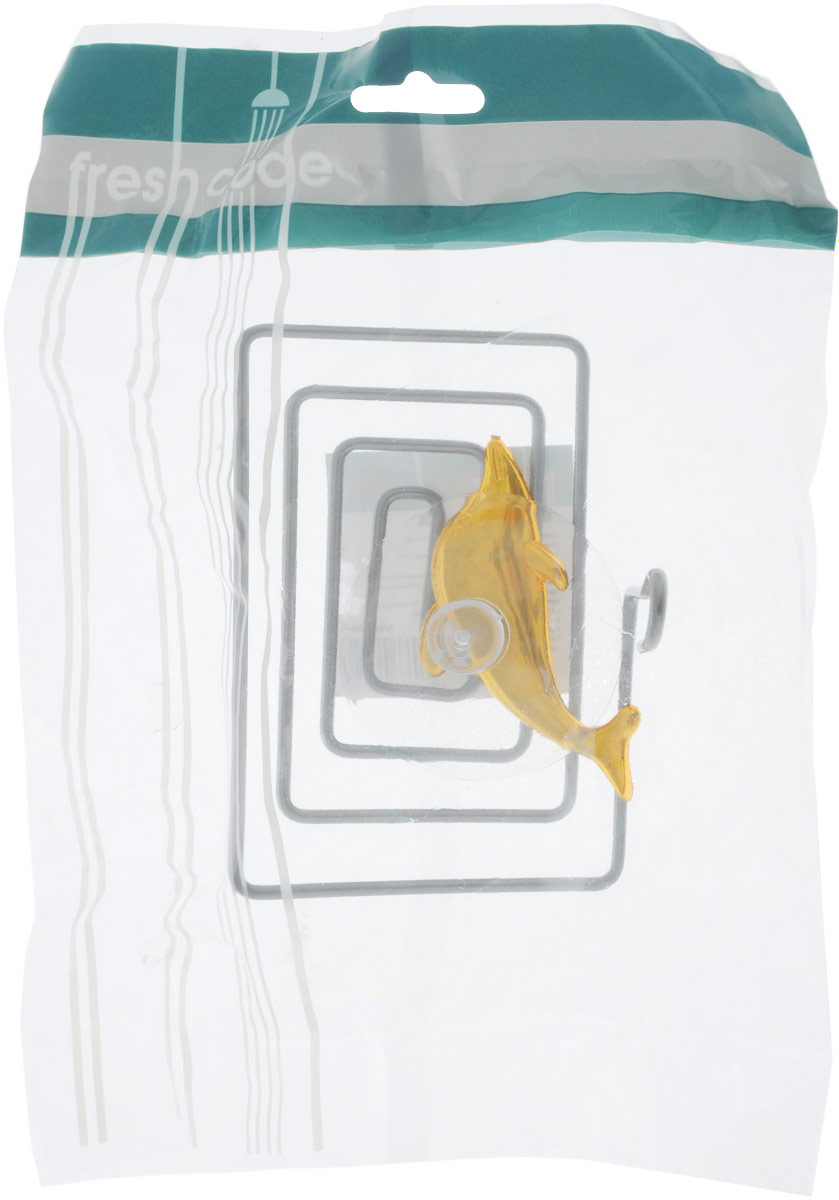 Мыльница Home Queen Дельфин, цвет: золотой, стальной, 12 х 9 х 9 см56442_дельфинМыльница Home Queen Дельфин выполнена из хромированной стали и украшена пластиковой фигуркой. Крепится к стене при помощи присоски. Такая мыльница прекрасно подойдет для ванной комнаты или кухни.