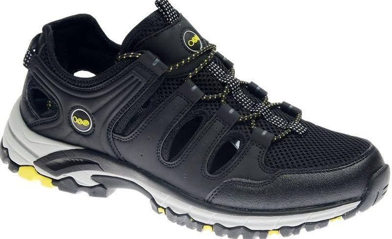 Кроссовки мужские Strobbs, цвет: черный. C2473-3. Размер 44C2473-3Стильные мужские кроссовки Strobbs отлично подойдут для активного отдыха и повседневной носки. Верх модели выполнен из текстиля и искусственной кожи. Удобная шнуровка надежно фиксирует модель на стопе. Толстая, протекторная подошва позволяет комфортно ощущать себя на каменистой поверхности. Промежуточный слой подошвы выполнен из ЭВА-материала, что позволяет снизить вес обуви.