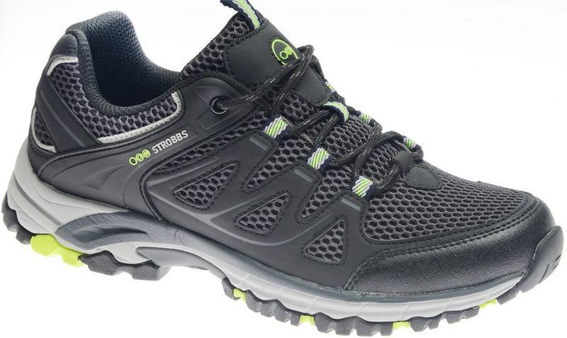 Кроссовки мужские Strobbs, цвет: серый. C2447-1. Размер 45C2447-1Стильные мужские кроссовки Strobbs отлично подойдут для активного отдыха и повседневной носки. Верх модели выполнен из микрофибры и искусственной кожи. Удобная шнуровка надежно фиксирует модель на стопе. Толстая, протекторная подошва позволяет комфортно ощущать себя на каменистой поверхности. Промежуточный слой подошвы выполнен из ЭВА-материала, что позволяет снизить вес обуви.
