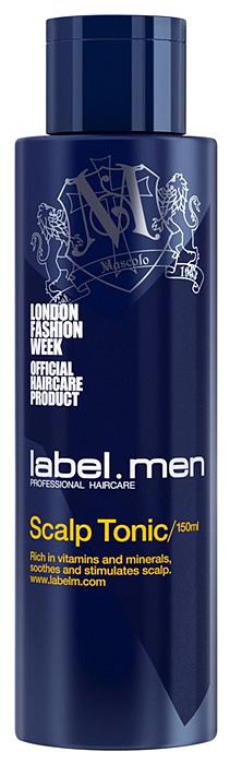 Label.m Тоник для кожи головы для мужчин 150 млLFSC0150Label.M Men Scalp Tonic: Тоник для кожи головы подходит для всех типов волос, особенно для тонких и редких волос. Успокаивает жжение, зуд и сухость. Предотвращает появление старения и продлевает здоровый рост волос. Комбинация витаминов и минералов выступает в роли мощного антиоксиданта, тем самым поддерживая здоровье кожи головы и стимулируя здоровый рост волос.