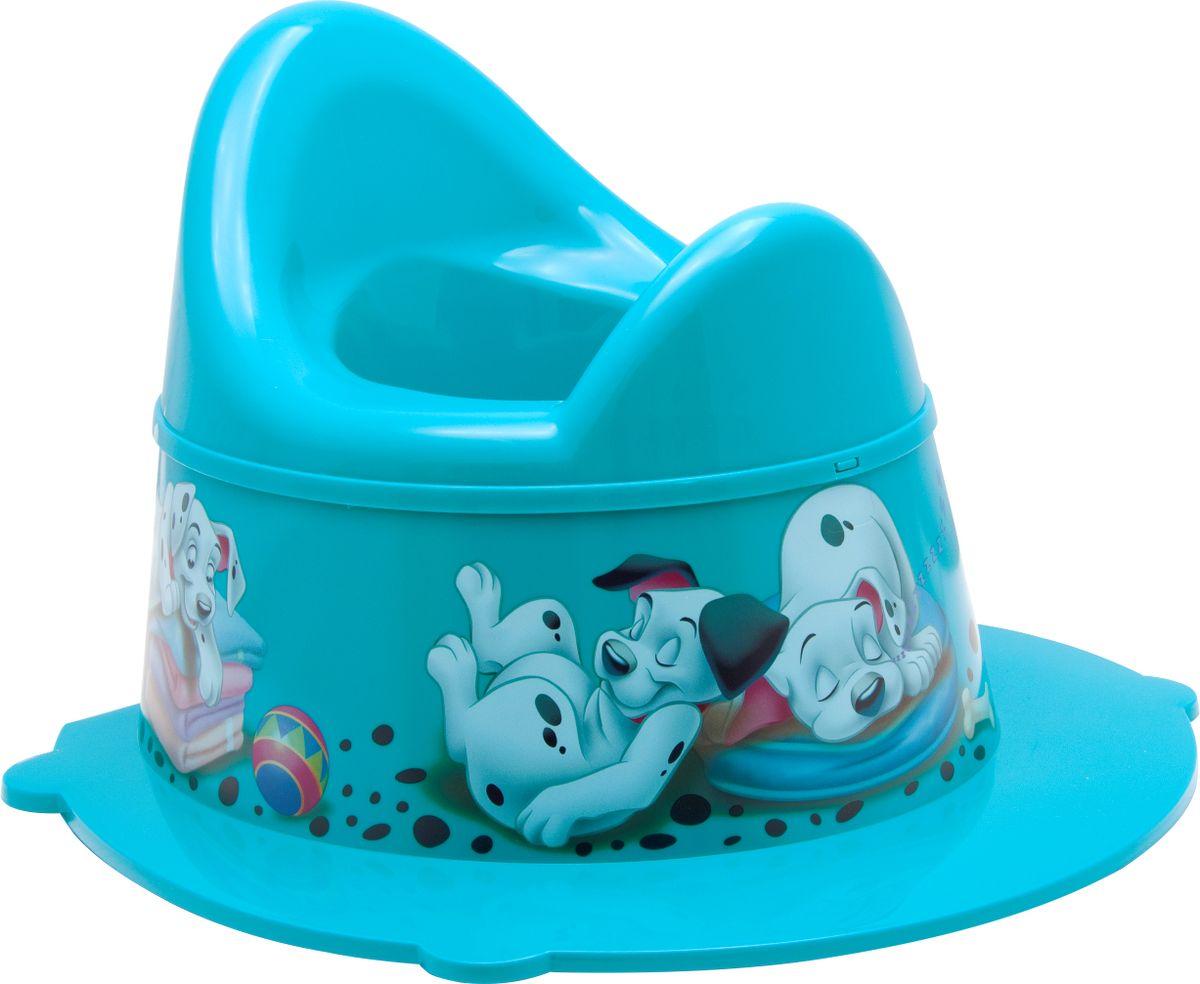 Disney Горшок детский Деко цвет бирюзовый