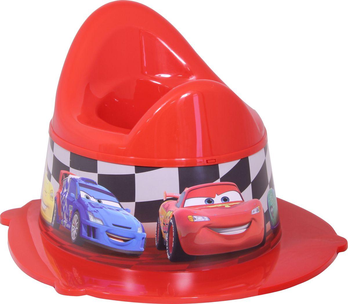 Фото Disney Горшок детский Деко цвет красный