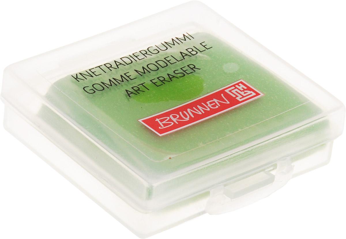 Brunnen Ластик-пластилин цвет зеленый29984BLN/BCDЛастик-пластилин Brunnen станет незаменимым аксессуаром на рабочем столе не только школьника или студента, но и офисного работника. Ластик выполнен в виде кубика пластилина и имеет мягкую текстуру, благодаря чему ему можно придать любую форму. Такой ластик поднимет настроение и станет оригинальным сувениром.