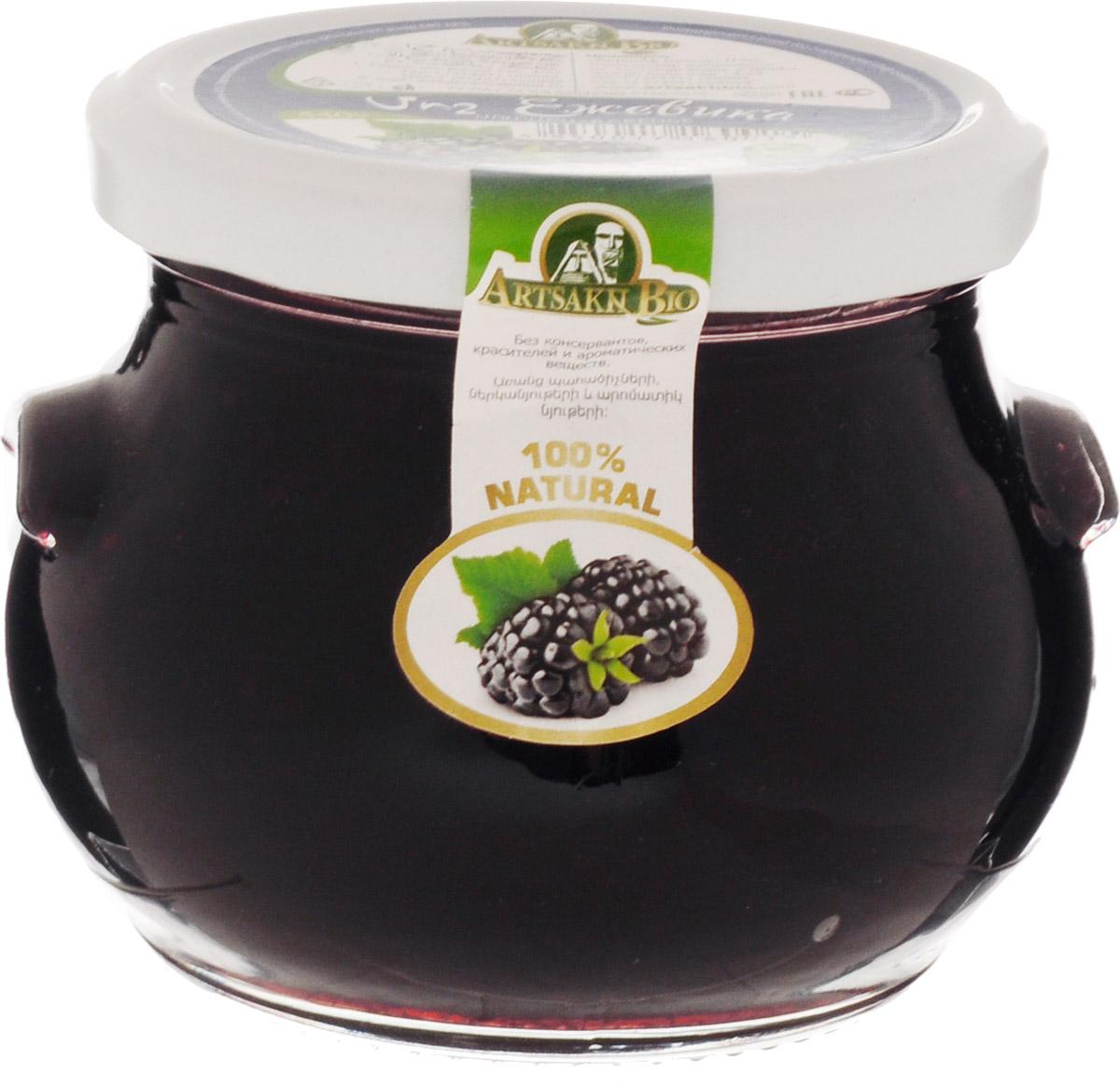 Artsakh Bio варенье из ежевики, 440 г130211020004Кроме великолепного вкуса и внешней красоты, ежевика обладает полезными и лечебными (целебными) свойствами. Ягоды ежевики богаты глюкозой, фруктозой, витамином С, каротином, органическими кислотами и токоферолами. В результате полезных свойств ежевику используют для лечения болезней почек, мочевого пузыря, при диабете и воспалениях суставов. Ягоды ежевики содержат большое количество биофлавоноидов, которые действуют как антиоксиданты, оказывают противовоспалительное, противоотечное действие, укрепляют стенки кровеносных сосудов и усиливают действие витамина С.