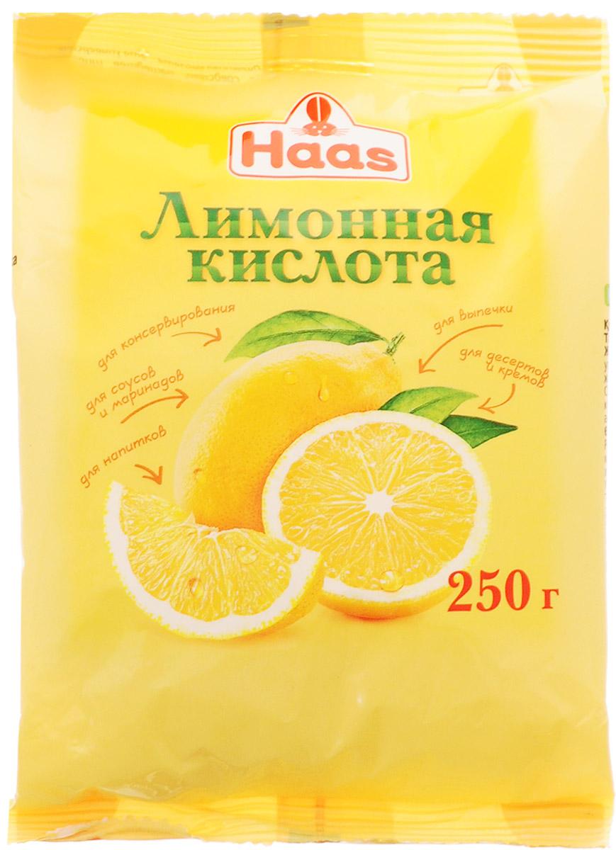 Haas лимонная кислота, 250 г