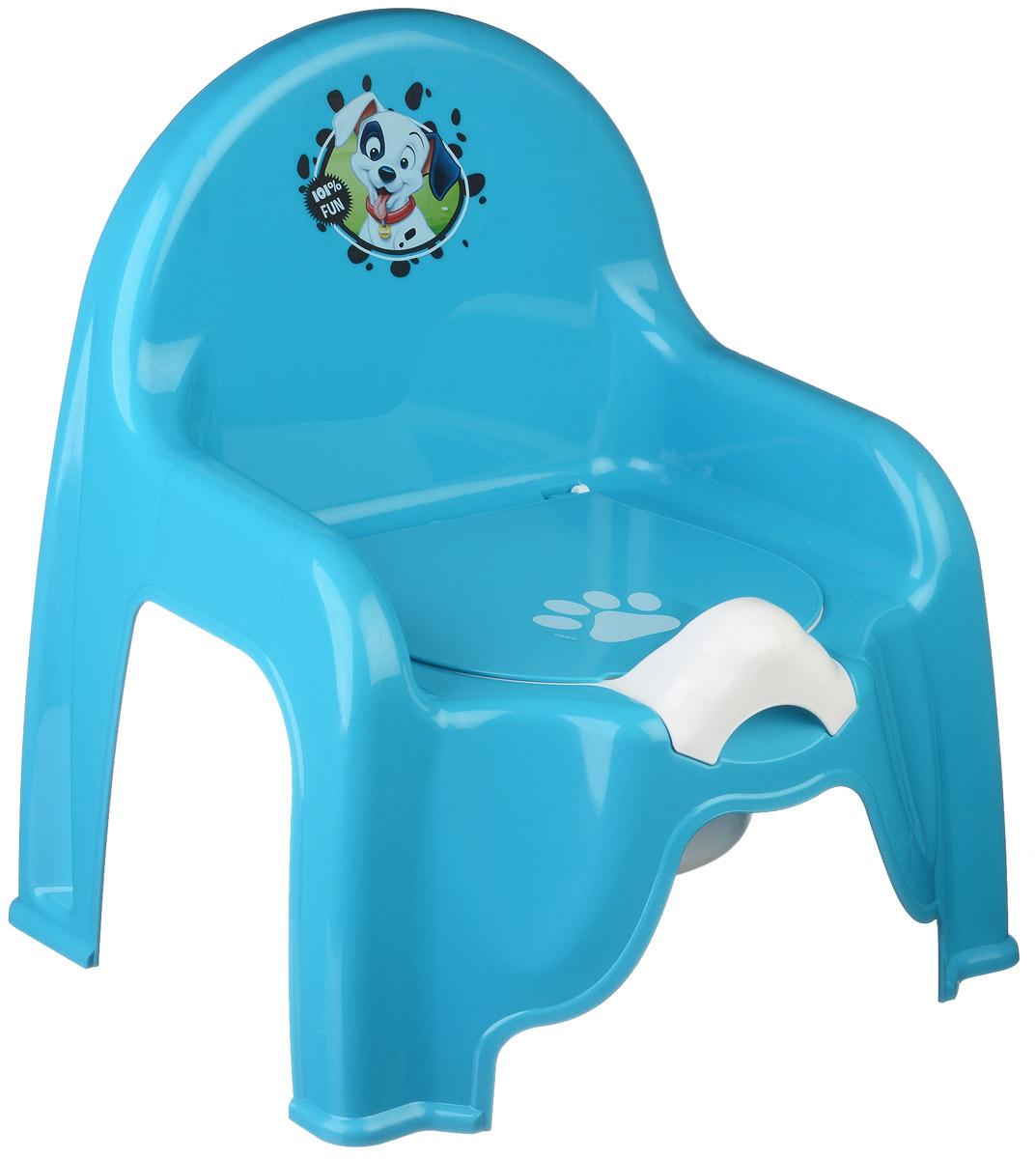 Disney Горшок-стульчик детский цвет бирюзовый