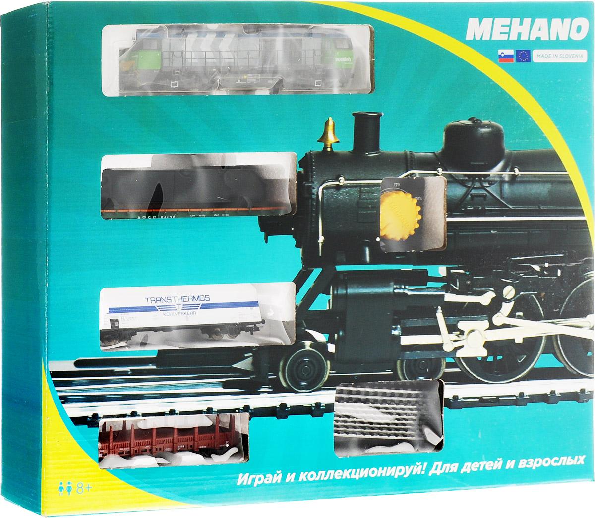 Mehano Железная дорога Prestige с тепловозом Vossloh G2000 - Железные дороги