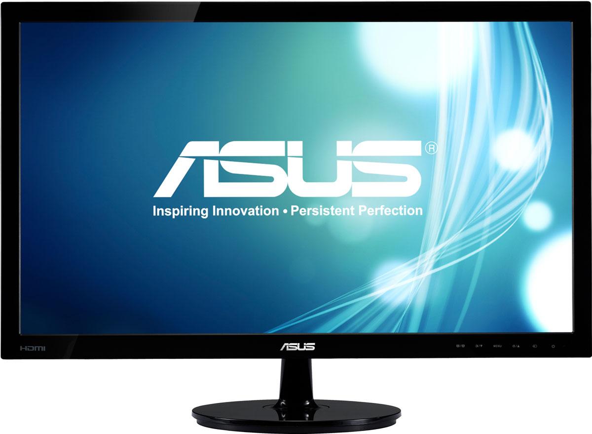 ASUS VS197DE, Black монитор90LMF1301T02201C-Современный ЖК-монитор ASUS VS197DE со светодиодной подсветкой и высокой контрастностью. Помимо великолепного качества изображения он может похвастать прекрасным дизайном корпуса и изящной, надежной подставкой.Благодаря технологии ASCR, которая динамически изменяет яркость подсветки в зависимости от текущего изображения, контрастность данного монитора достигает фантастического уровня – 50 000 000:1!Технология Smart View обеспечивает отсутствие искажений цвета при взгляде на экран снизу, например, если вы захотите посмотреть фильм, лежа на диване.Эксклюзивная технология Splendid Video Intelligence позволяет быстро настраивать монитор в соответствии с текущими задачами и условиями (игры, просмотр фото, работа в ночное время и т.д.), чтобы получить максимально качественное изображение. Всего доступно шесть вариантов настройки. Между ними можно легко переключаться нажатием на специально выделенную для этого кнопку.