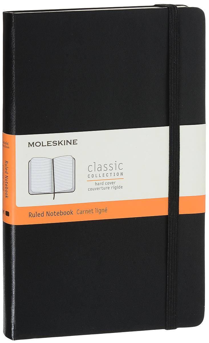 Moleskine Блокнот Classic Large 240 страниц в линейку цвет черный