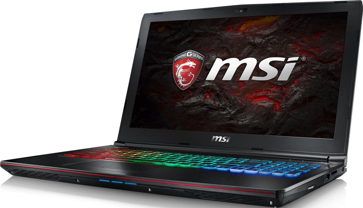 MSI GE62VR 7RF-496RU Apache Pro, BlackGE62VR 7RF-496RUКомпания MSI создала игровой ноутбук GE62VR 7RE Apache Pro с новейшим поколением графических карт NVIDIA GeForce GTX 1060. По ожиданиям экспертов производительность GeForce GTX 1060 должна более чем на 40% превысить показатели графических карт GeForce GTX 900M Series. Благодаря инновационной системе охлаждения Cooler Boost и специальным геймерским технологиям, применённым в игровом ноутбуке MSI GE62VR 7RE Apache Pro, графическая карта новейшего поколения NVIDIA GeForce GTX 1060 сможет продемонстрировать всю свою мощь без остатка. Олицетворяя концепцию Один клик до VR и предлагая полное погружение в игровые вселенные с идеально плавным геймплеем, игровые ноутбуки MSI разбивают устоявшиеся стереотипы об исключительной производительности десктопов. Ноутбуки MSI готовы поразить любого геймера, заставив взглянуть на мобильные игровые системы по-новому.7-ое поколение процессоров Intel Core серии H обрело более энергоэффективную архитектуру, продвинутые технологии обработки данных и оптимизированную схемотехнику. Производительность Core i7-7700HQ по сравнению с i7-6700HQ выросла в среднем на 8%, мультимедийная производительность - на 10%, а скорость декодирования/кодирования 4K-видео - на 15%. Аппаратное ускорение 10-битных кодеков VP9 и HEVC стало менее энергозатратным, благодаря чему эффективность воспроизведения видео 4K HDR значительно возросла.Запускайте игры быстрее других благодаря потрясающей пропускной способности PCI-E Gen 3.0x4 с поддержкой технологии NVMe на одном устройстве M.2 SSD. Используйте потенциал твердотельного диска Gen 3.0 SSD на полную. Благодаря оптимизации аппаратной и программной частей достигаются экстремальный скорости чтения до 2200 МБ/с, что в 5 раз быстрее твердотельных дисков SATA3 SSD.Вы сможете достичь максимально возможной производительности вашего ноутбука благодаря поддержке оперативной памяти DDR4-2400, отличающейся скоростью чтения более 32 Гбайт/с и скоростью записи 36 Гбайт/с. В