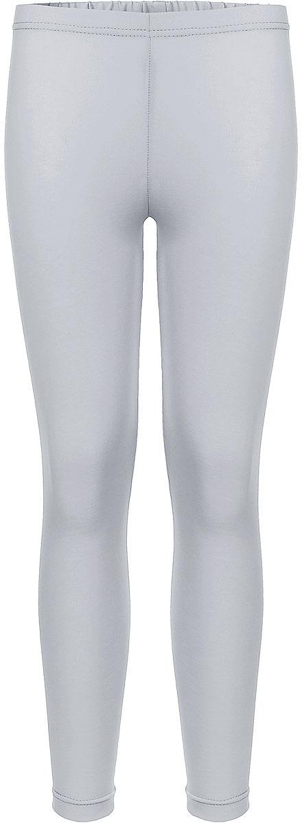 Леггинсы для девочки КотМарКот, цвет: серый. 22846. Размер 122, 7 лет футболка детская котмаркот цвет светло зеленый 14106 размер 122 7 лет