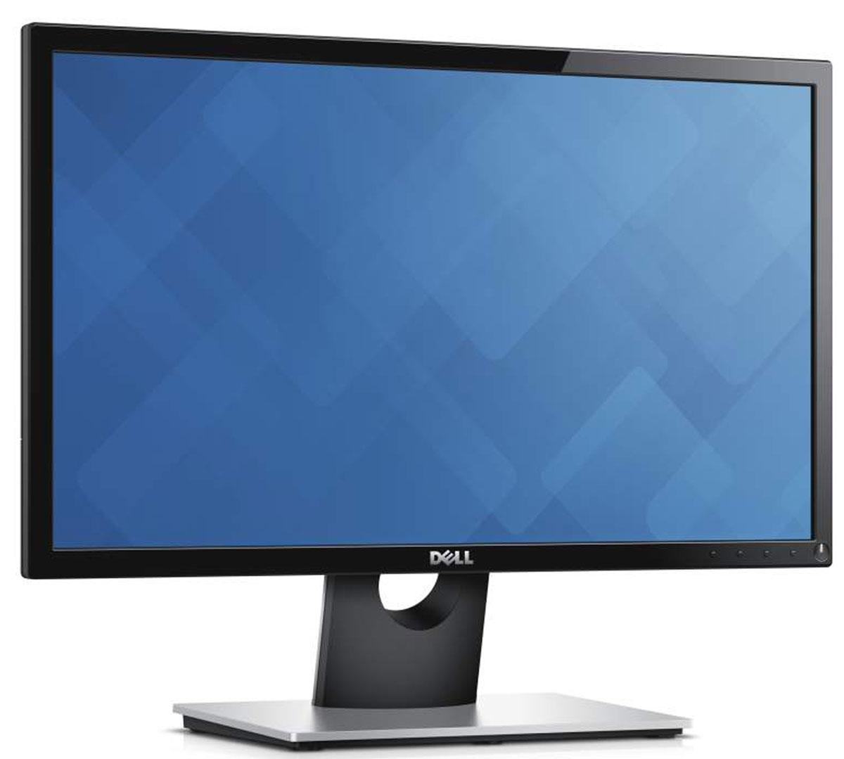Dell SE2216H, Black монитор216H-2016Недорогой 22-дюймовый монитор Dell для повседневной работы с расширенной областью обзора благодаря усовершенствованной лицевой панелии стильным дизайном.Элегантность в каждой мелочи. Глянцевые тонкие фронтальные панели, классическая черная отделка и покрытое алюминием основаниеформируют элегантное и современное решение, дизайн которого будет соответствовать любому интерьеру. Простой доступ. Кнопки быстрогодоступа на нижней лицевой панели обеспечивают простоту регулировки изображения. Устойчивая подставка. Наклоните монитор подоптимальным углом с помощью надежной подставки.Увеличенная до максимума область просмотра. Пользуйтесь всем пространством области просмотра с диагональю 54,6 см (21,5 дюйма)благодаря усовершенствованным фронтальным панелям. Впечатляющие характеристики экрана. Наслаждайтесь насыщенной, точнойи согласованной цветопередачей на дисплее с поддержкой разрешения Full HD (1920x1080) со сверхшироким углом обзора (178°). Превосходнаячеткость. Отметьте практически полное отсутствие отражения на удивительно четком и изящном экране.Простое подключение к компьютеру. Монитор совместим как с современными компьютерами, так и с системами предыдущих поколенийблагодаря наличию разъемов VGA и HDMI. Спокойствие обеспечено. Приобретая монитор Dell, вы получаете расширенное обслуживание сзаменой , действующее в течение трехлетней ограниченной гарантии на оборудование.Сокращение воздействия на окружающую среду. 22-дюймовый монитор Dell поддерживает технологию PowerNap, которая уменьшает яркостьэкрана неиспользуемого монитора или переводит его в спящий режим. Это монитор также соответствует требованиям новейших нормативныхтребований и экологических стандартов.